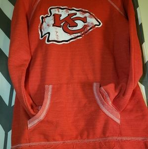 Women's Kansas City Chiefs NFL hoodie with pocket